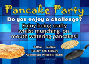 Pancake Party 2015