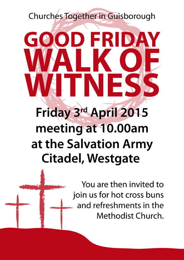 Good Friday Walk of Witness 2015