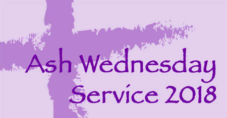 Ash Wednesday Service 2018